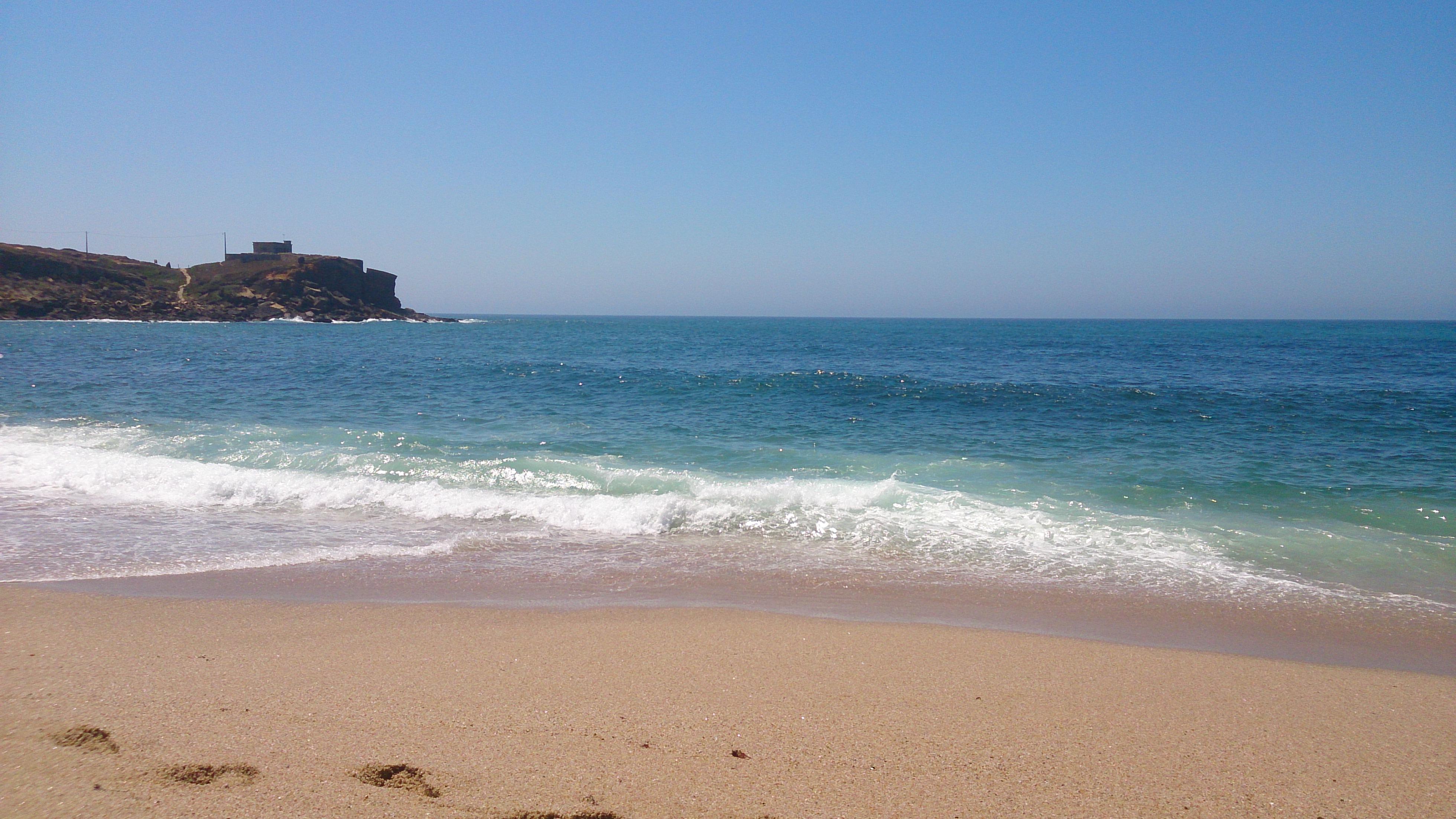 Beautiful beach in Ericeira
