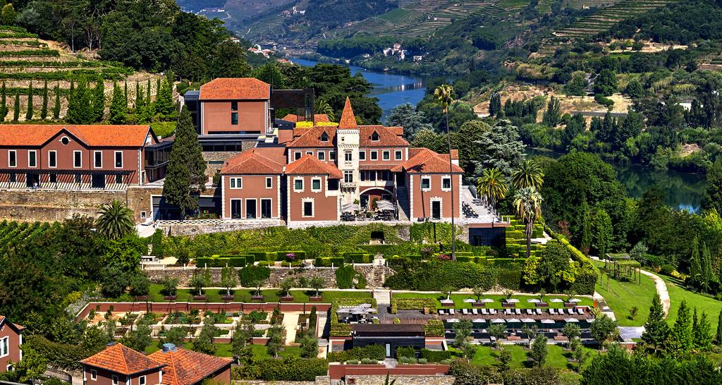 The luxury Six Senses Douro Valley Hotel, Portugal