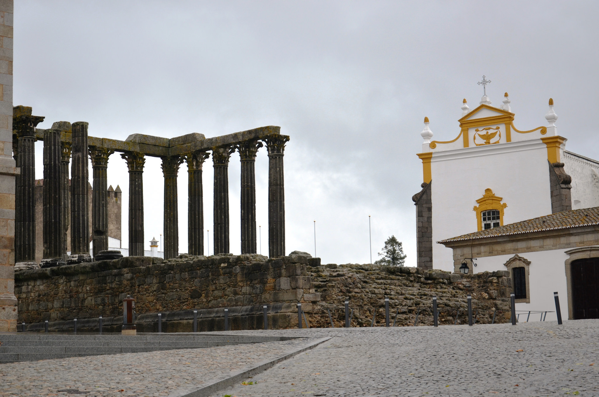 Diana temple, Evora, Portugal