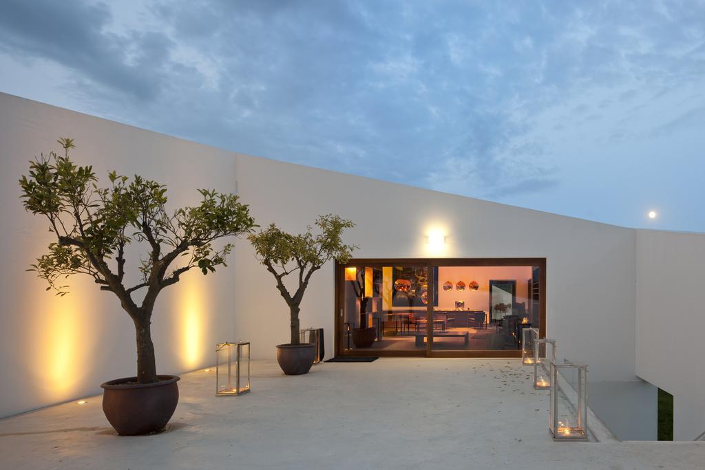 One of the vilas at L'AND Vineyards Hotel in Montemor-o-Novo, near Evora, Portugal