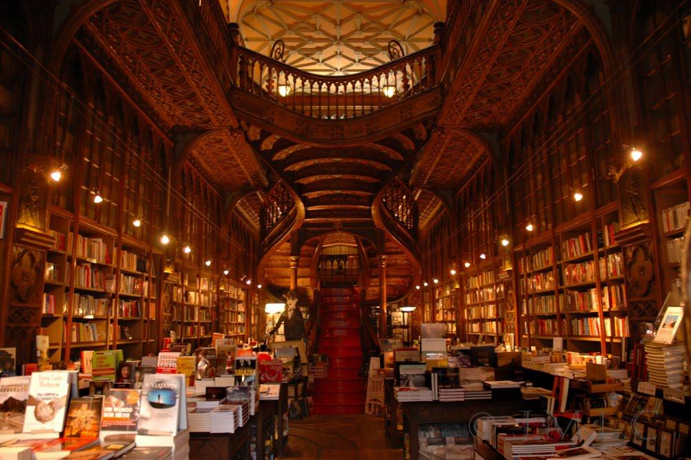 Livraria Lello Lello Book Store, Porto, Portugal