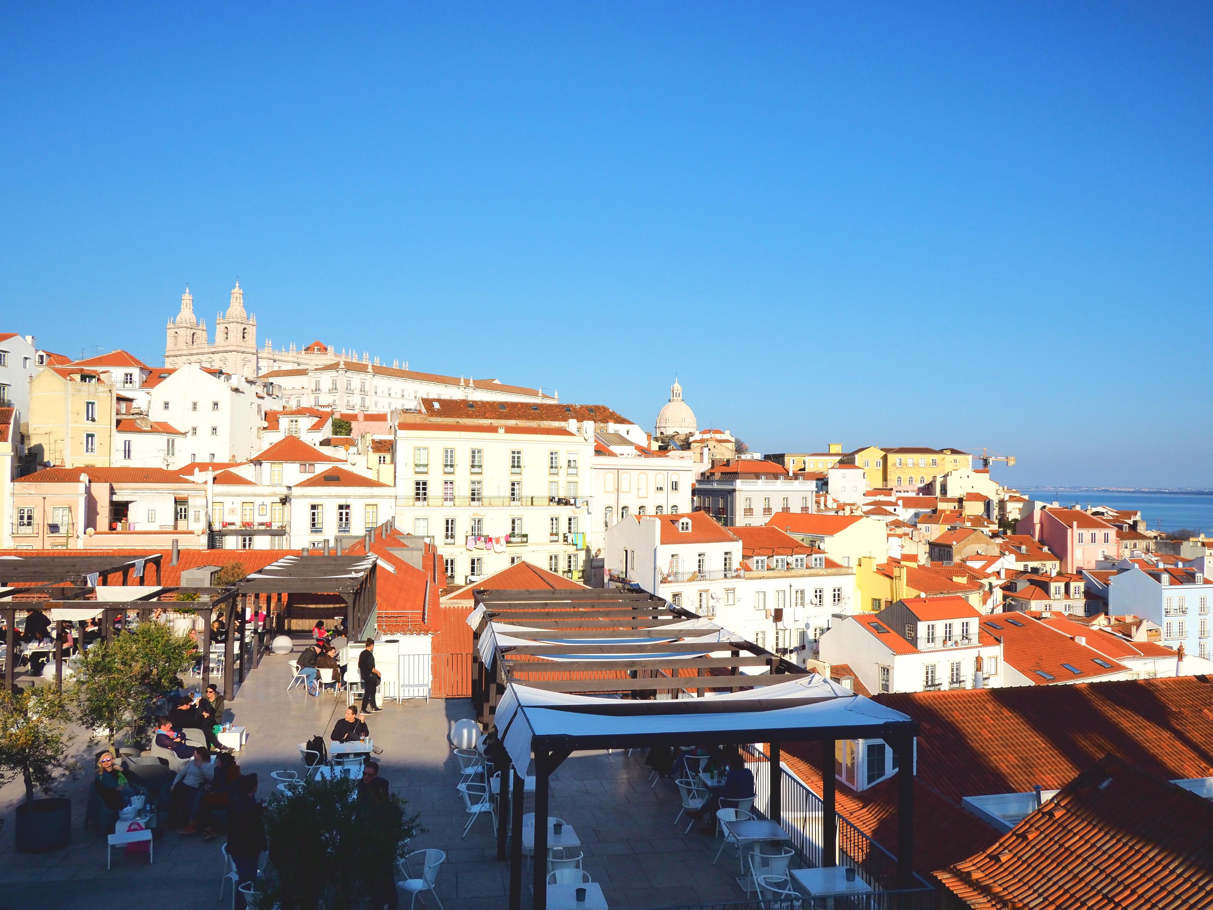 View from Miradouro Santa Luzia