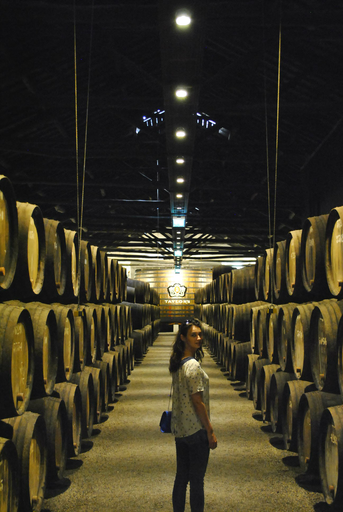 Port Wine Barrels in Vila Nova de Gaia. Want to try some? Read the blog post to know more.