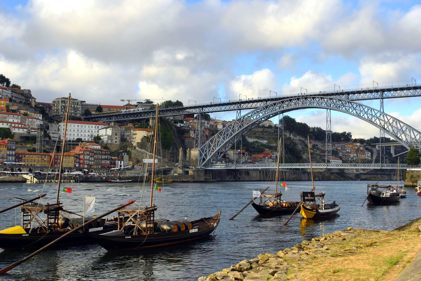 Rebelo Boats on the river Douro, Porto.
