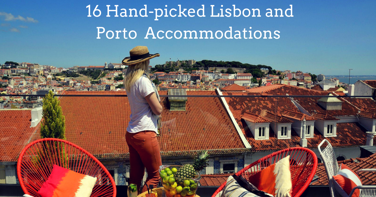 Check out my favorite and most recommended accommodations for Lisbon and Porto.