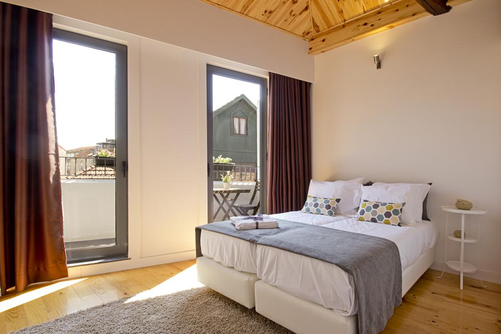 MyStay Porto. One of the rooms with terrace.