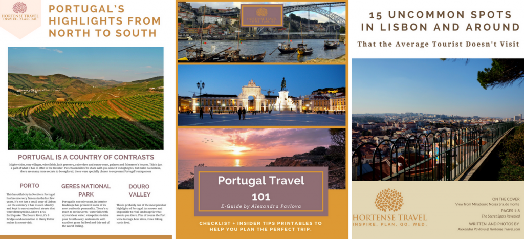 Free Portugal Travel Planning Kit - Hortense Travel