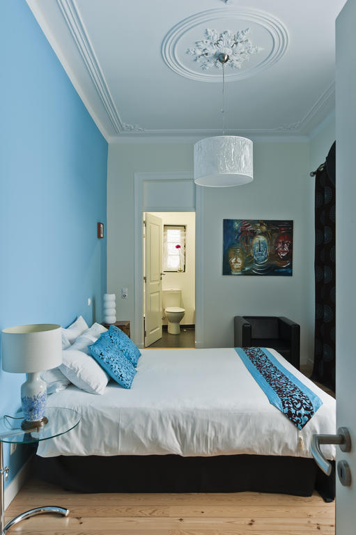 Each room in Casa do Bairro has a different décor theme