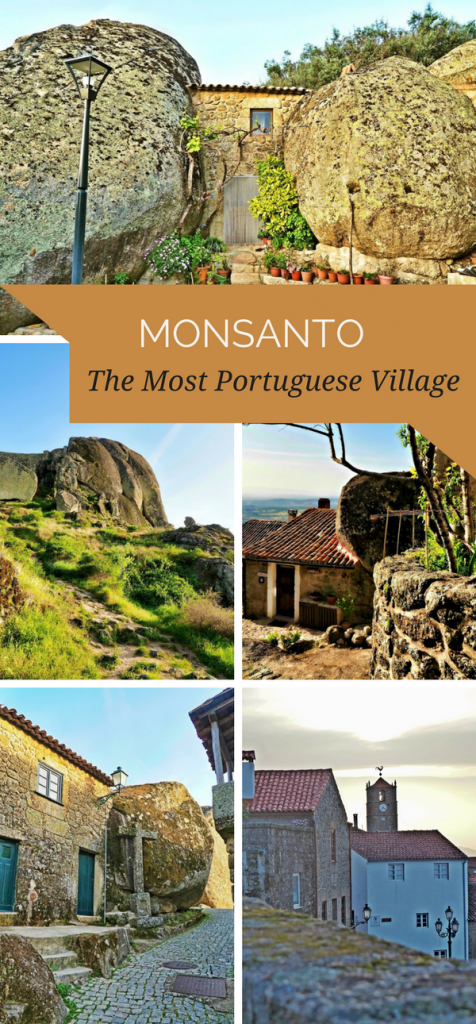 Monsanto - The Most Portuguese Village is located in Central Portugal, near Spanish border. It's famous for its gigantic rocks, entering peoples' houses. Visit Portugal | Travel to Portugal | Portugal off the beaten path | Portuguese villages | Most beautiful village in Portugal | Central Portugal