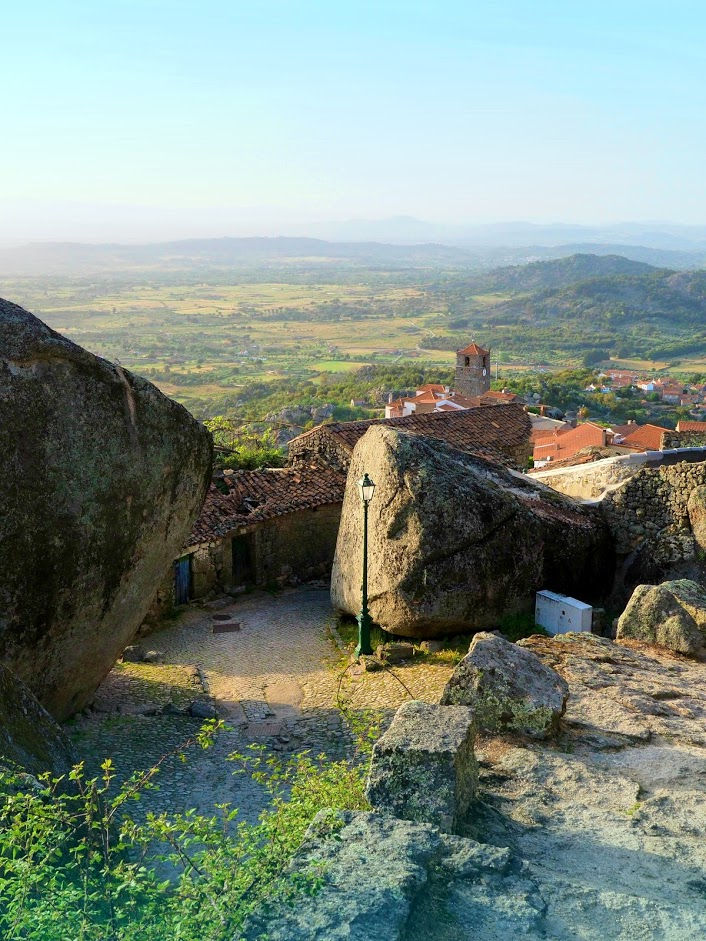 Monsanto - The Most Portuguese Village is located in Central Portugal, near Spanish border. It's famous for its gigantic rocks, entering peoples' houses.