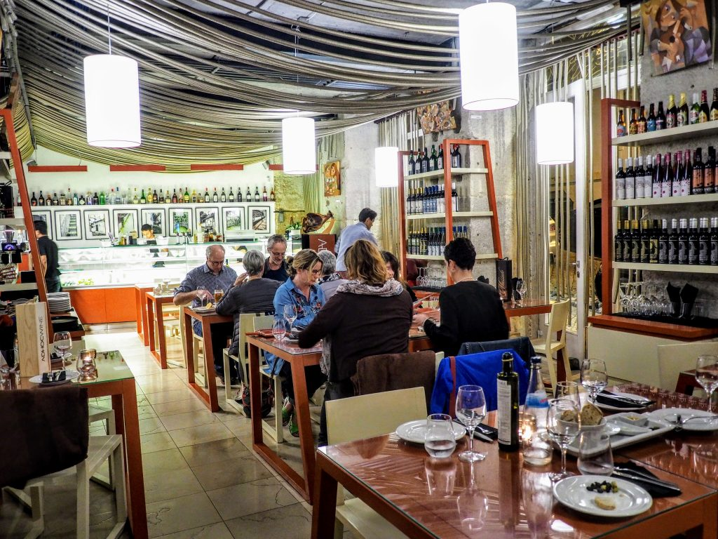 Eating Bear Lisbon Restaurant Review