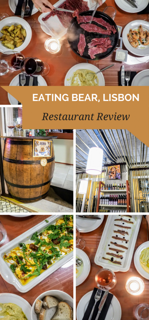 Eating Bear Lisbon Restaurant Review