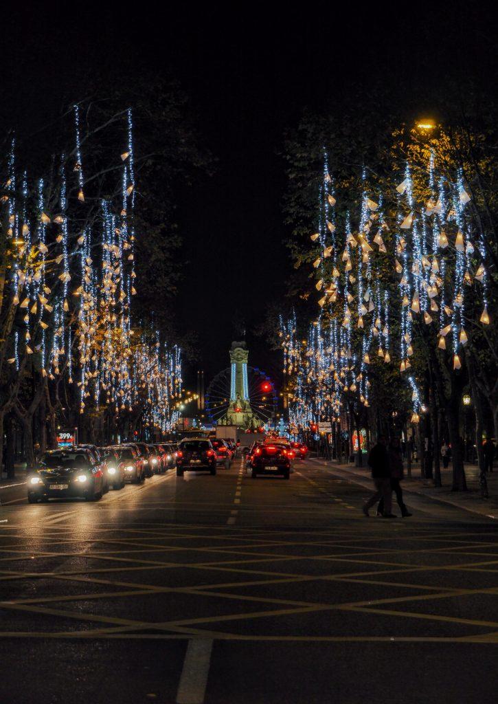 Christmas Lights of Lisbon
