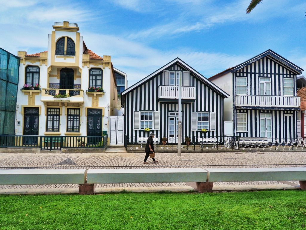 The houses of Costa Nova