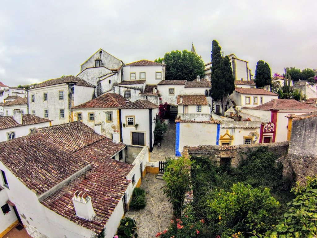 The petty town of Obidos, close to Lisbon, Portugal