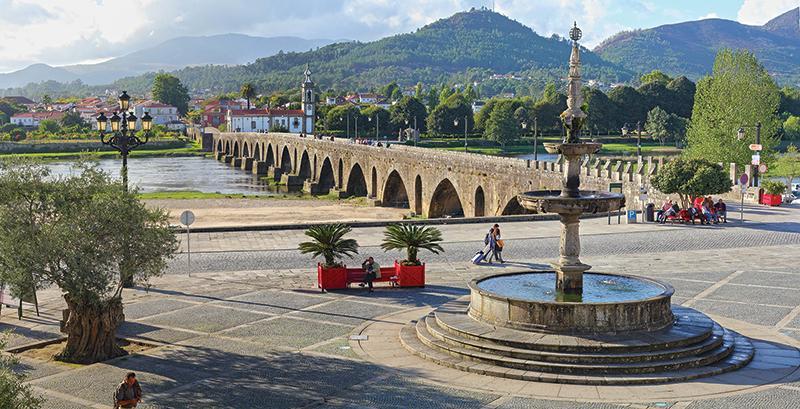 Ponte de Lima's bridge.