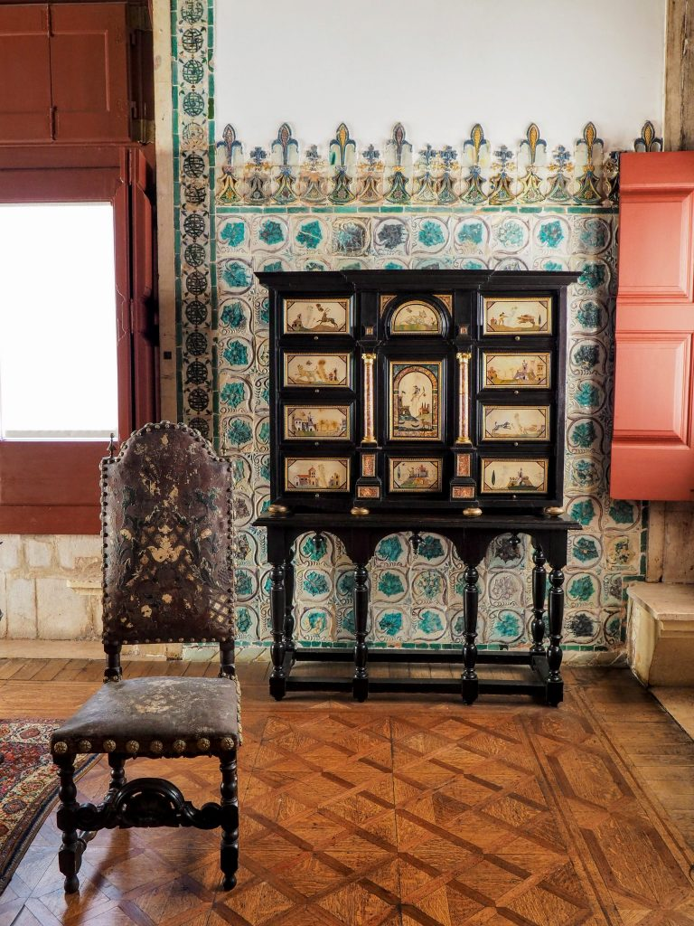 Chair in National Palace of Sintra