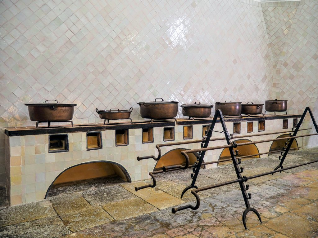 Kitchen in National Palace of Sintra