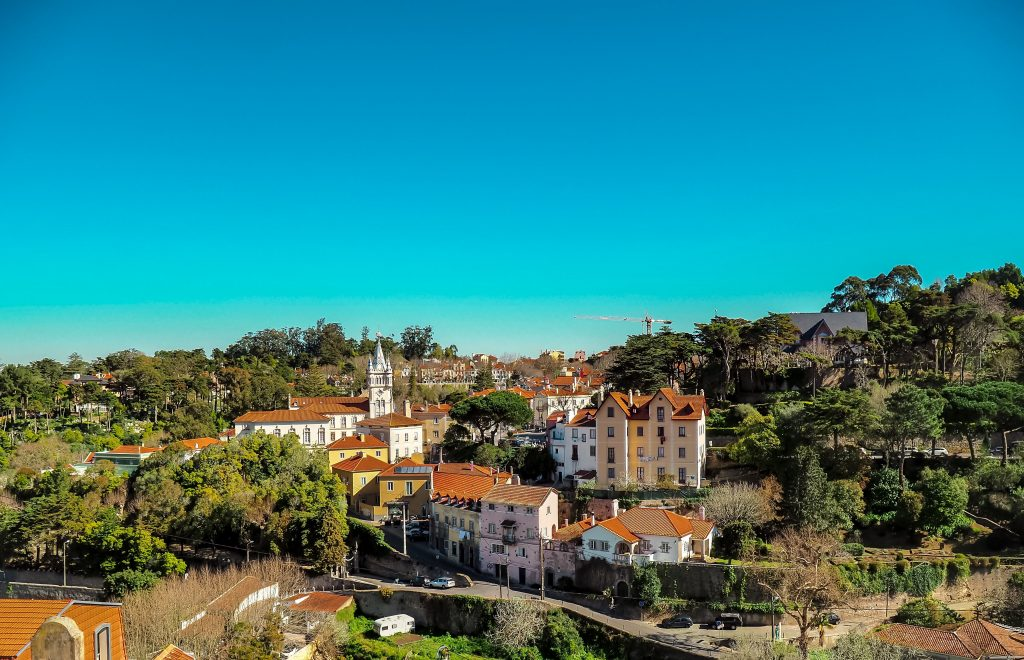 Buildings in Sintra