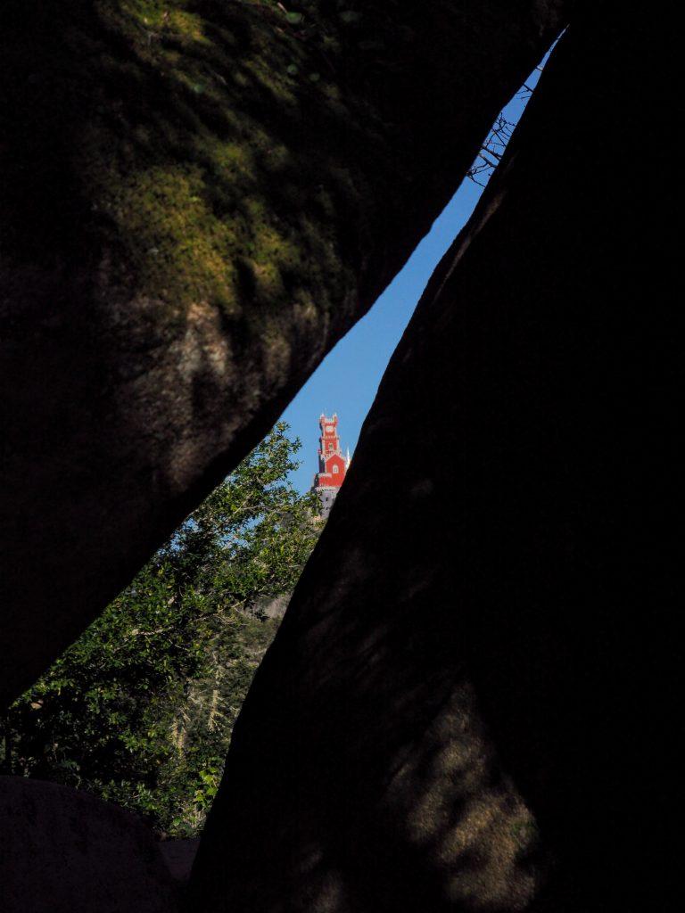 Gap through Rocks