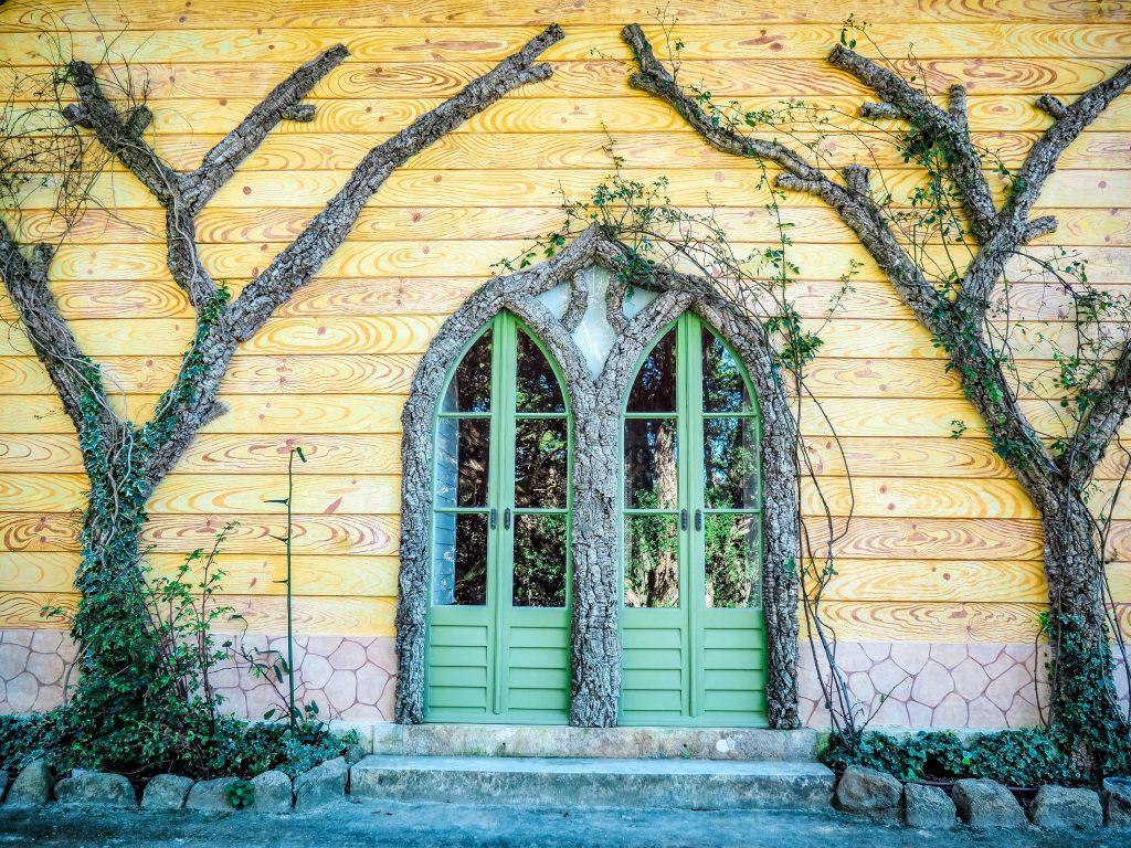 Door at Chalet da Condessa d'Edla