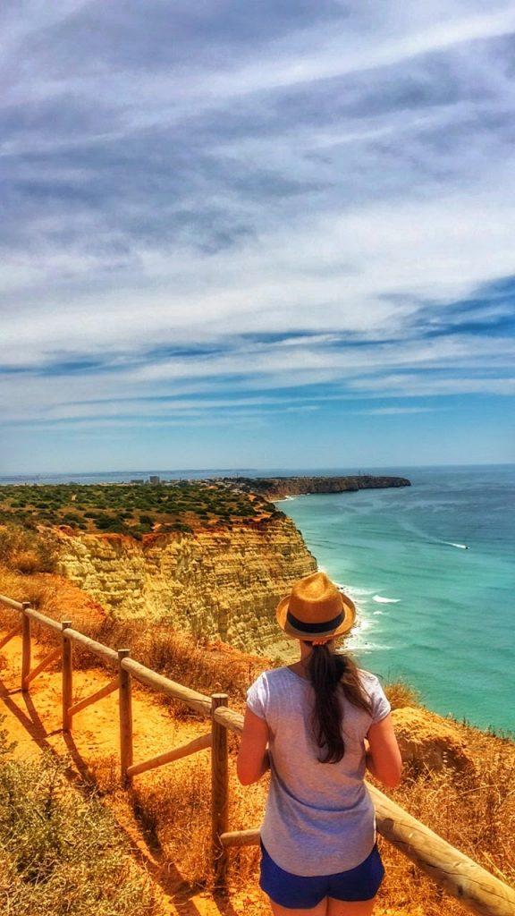 Me in Algarve Coastline, South of Portugal