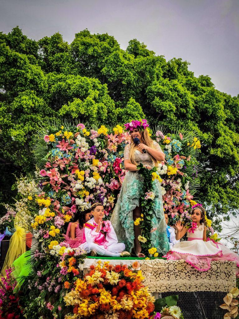 Woman in Festa da Flor