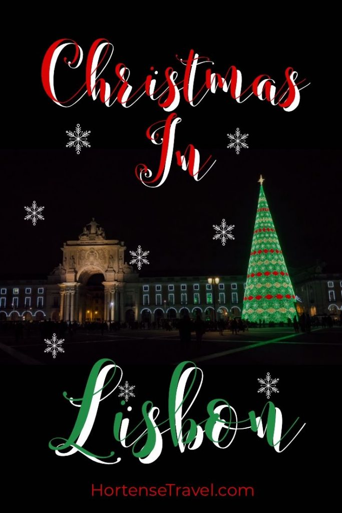 The Christmas Lights of Lisbon and Fun Foods