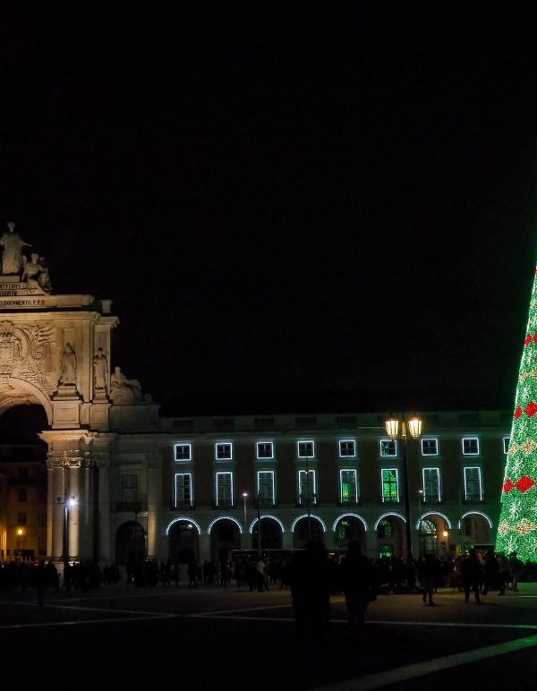 The Christmas Lights of Lisbon and Fun Foods – Video Series Ep.2
