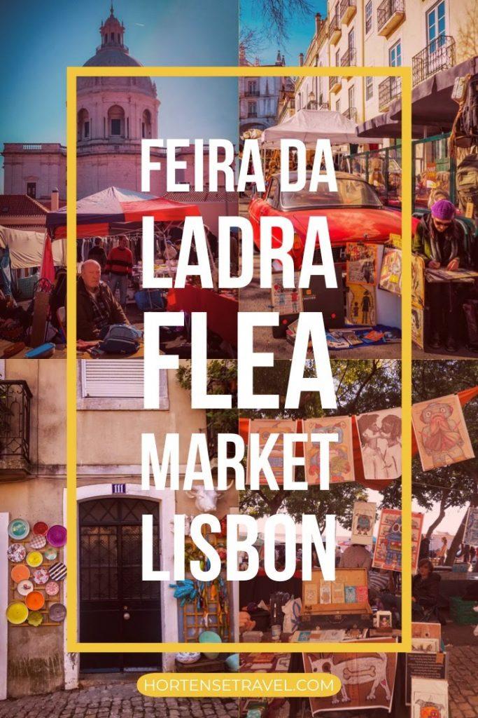 Feira Da Ladra Flea Market, Lisbon