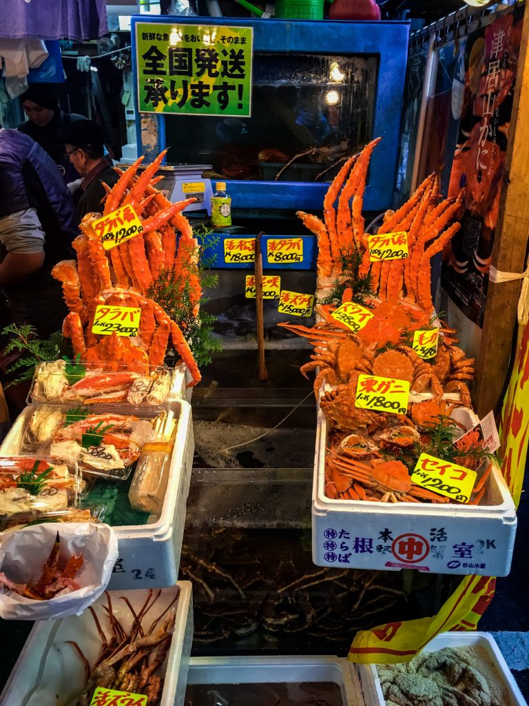 Fish Market in Ginza