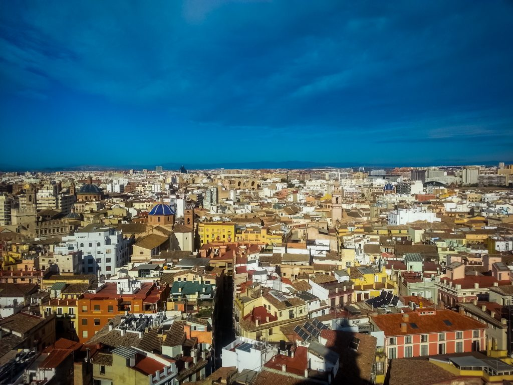 In addition to its architectural features, make sure you appreciate the beautiful paintings held there (including those from Goya, an influential Spanish painter) and visit the bell tower El Micalet/Miguelete. Climb the tower's many steps for an outstanding view over the city!