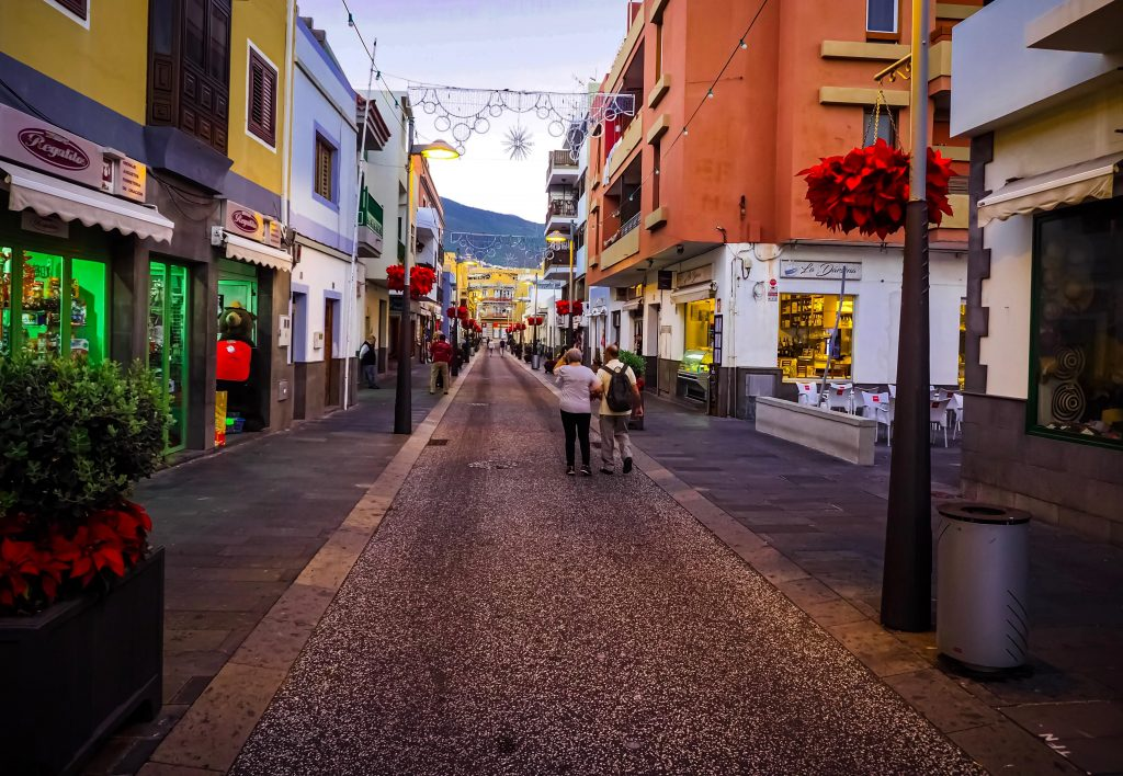 Tenerife Market Street