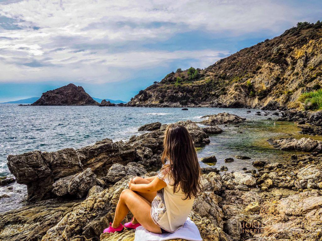 Me at Monte Argentario peninsula