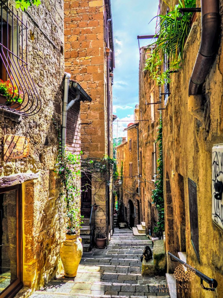 Small Valley in Pitigliano