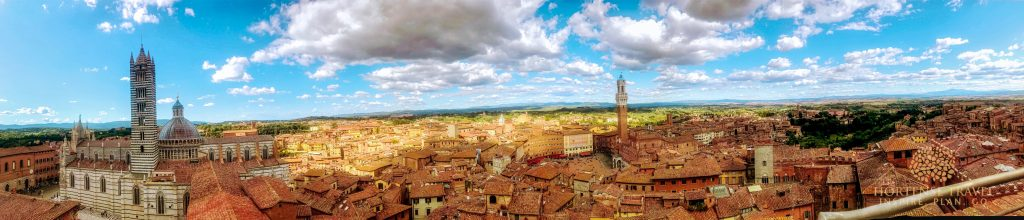 Top View of  Siena
