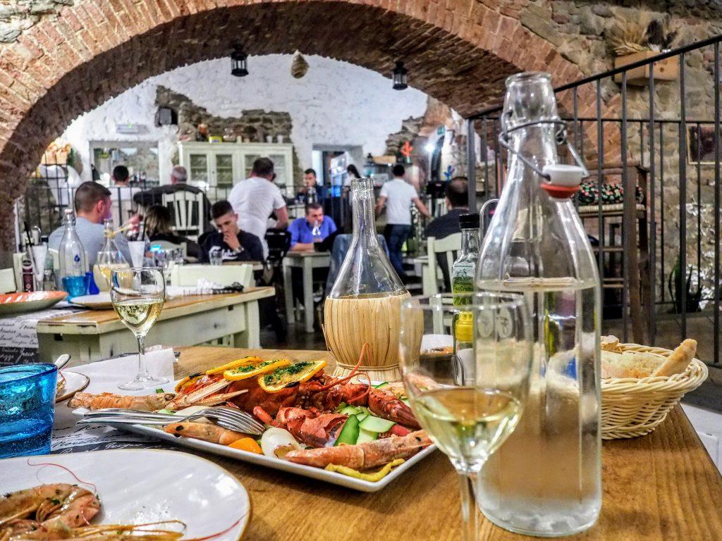 Eating in Castiglione della Pescaia