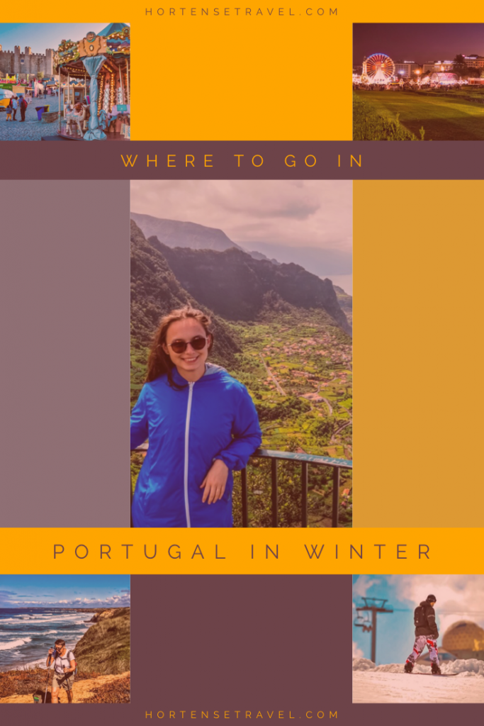 Portugal in Winter Pinterest