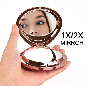 Travel Makeup Mirror, Power Bank And Hand Warmers