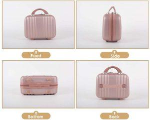 Hard Shell Cosmetic Case Luggage-Hortense Travel