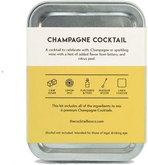 The Champagne Cocktail Kit For Travel