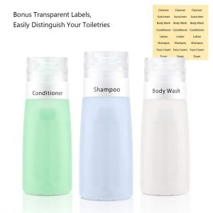 Gonex Travel Bottles Set Toiletry Containers - Hortense Travel
