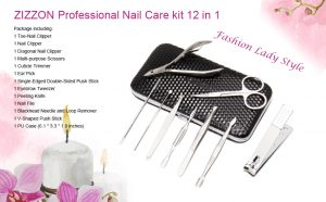 Professional Grooming Kit, Nail Tools With Luxurious Travel Case - Hortense Travel