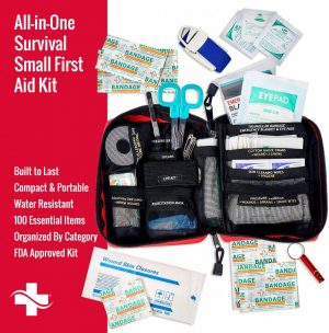 Survival Kit - 100 Piece - First Aid