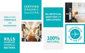 PlaneAire Travel Mist 100% Natural Organic-Hortense Travel