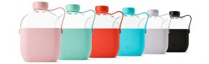 Hip 22 Oz. Plastic Water Bottle With Silicone Sleeve