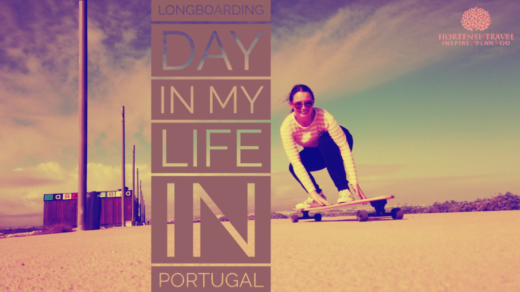 A Fun Day In My Life Longboarding And Land Paddling In Portugal - Hortense Travel