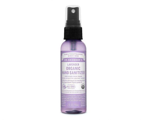 Dr. Bronner's Hand Sanitizer - Lavender - 2 Oz - Hortense Travel